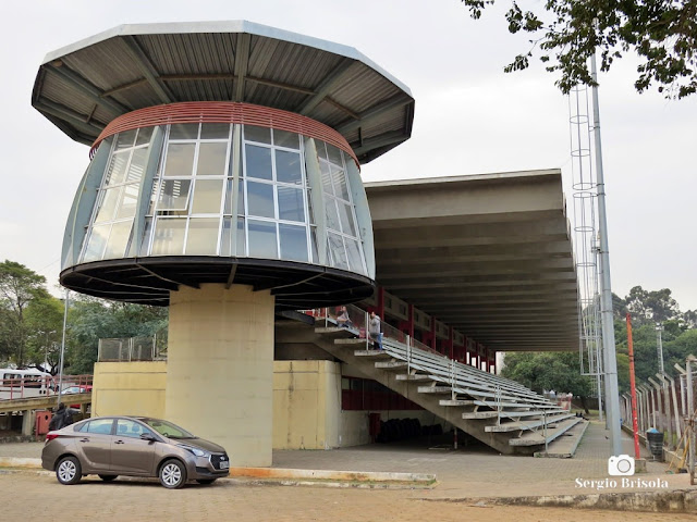 Vista das Arquibancadas do Centro Olímpico de Treinamento e Pesquisa (COTP) - Vila Clementino - São Paulo