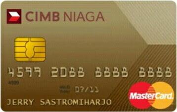 CIMB Niaga Master Card Gold