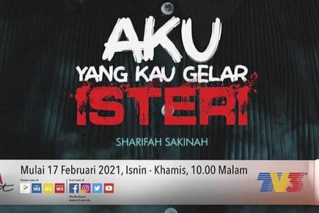 Sinopsis Drama Aku Yang Kau Gelar Isteri (TV3 2021)