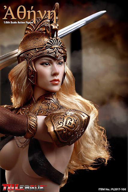 "osw.zone ""By the gods!"" TBLeague PL2017-106 1 / 6th scale Athena 12-inch Female Action Figure"