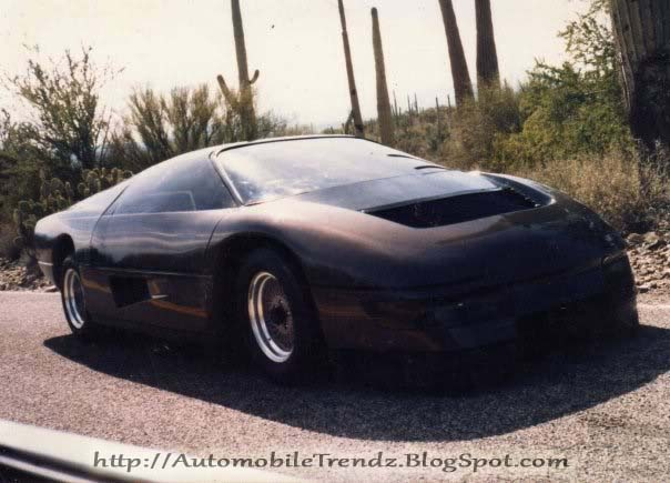Automobile Trendz 1984 Dodge M4s Turbo Interceptor