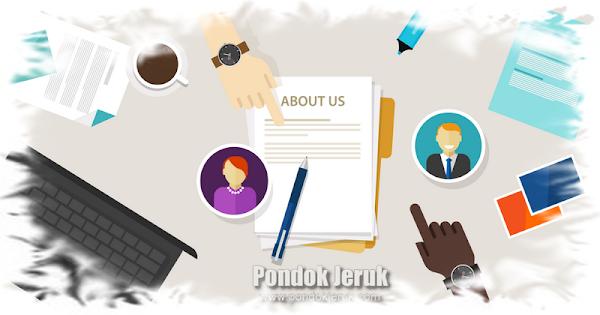 About Blog Pondok Jeruk