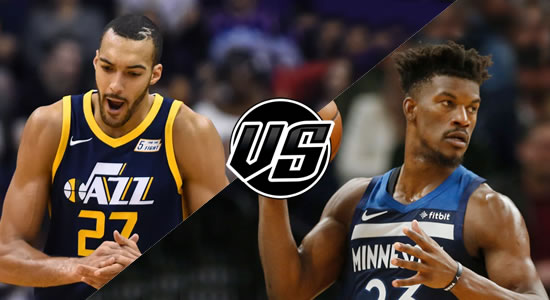 Live Streaming List: Utah Jazz vs Minnesota Timberwolves 2018-2019 NBA Season