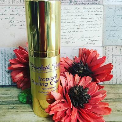 tropical peeling, peeling enzimático, elisabeth vargas cosmétic, Alta cosmética, tratamiento regenerador antiaging, un lujo en tu piel,