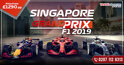 singapore grand prix packages from london