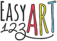easy 123 art logo