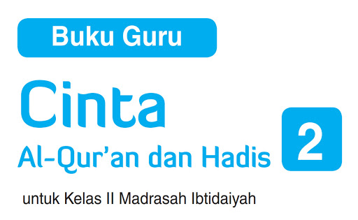 Buku Guru Al-Quran Hadits MI Kelas 2 Versi Aqila