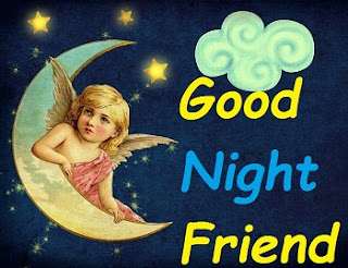 sweet good night pic for friends