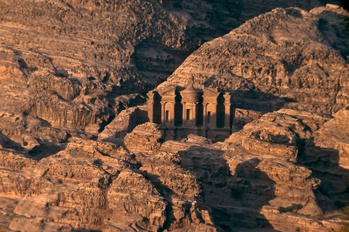Ancient Jordanian site of Petra