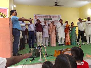 बिरसा में गाँधी जी की 150 वीं जयंती पर भव्य कार्यक्रम का आयोजन