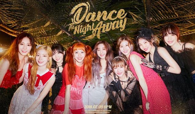 Lirik Lagu Twice - Dance The Night Away  [Romanization, Hangul, English, & Terjemahan]