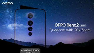 Oppo Reno2 Smartphone specification
