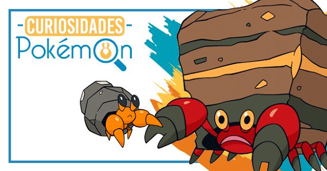 Curiosidades Pokémon: Dwebble e Crustle