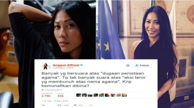 Kicauan Anggun Soal 'penistaan agama' Ini Mendadak Viral, Ngena Banget