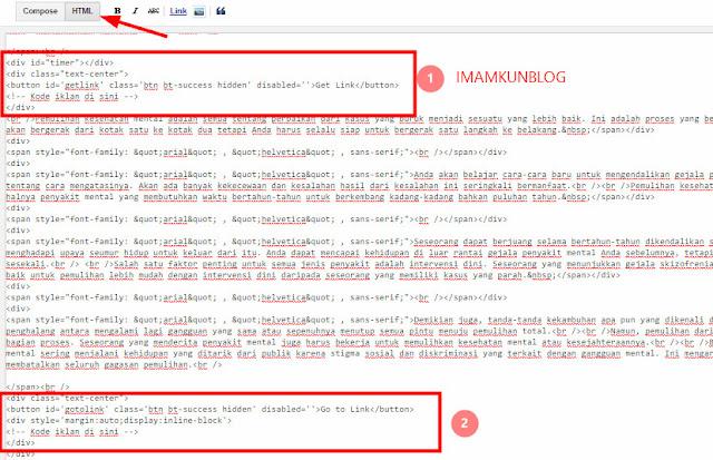 Cara Membuat Safelink Blogger Lengkap Terbaru