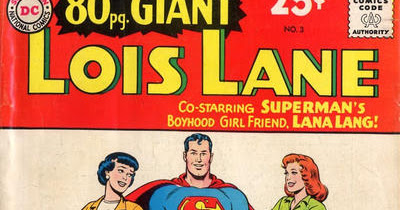 Giant Lois Lane With Lana Lang