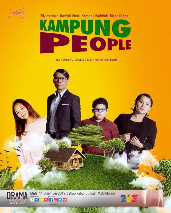 Drama Kampung People jadi bualan ramai. Best sangat ke?