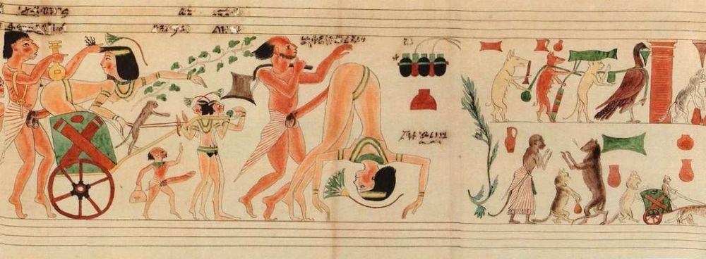 Turin Erotic Papyrus