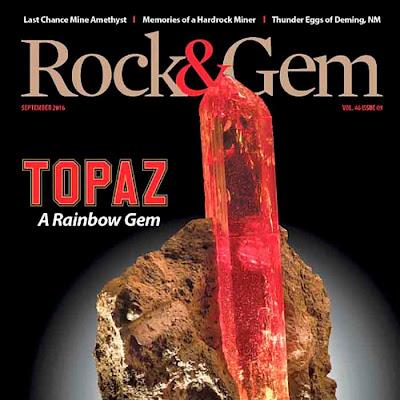 Rock & Gem magazine | September 2016 - Download