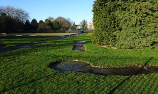 Elmfield Park Crazy Golf course in Doncaster