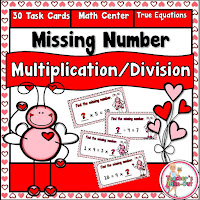 Multiplication and Division Equal Equations