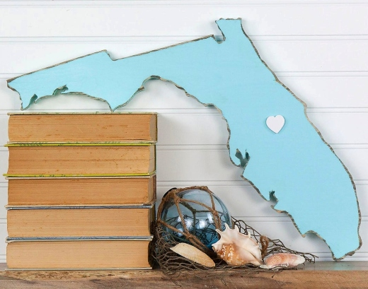 Florida State Signs Wood Cutouts