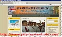 Jasa Pembuatan Website Sekolah, Website Sekolah