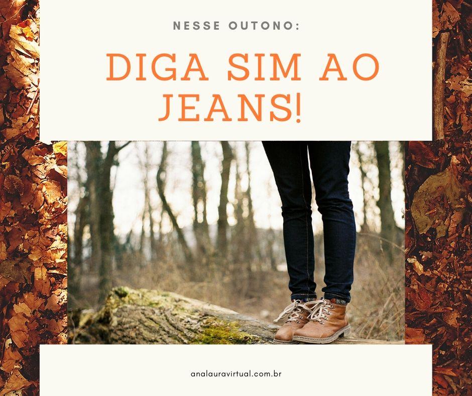 Nesse outono: diga sim ao jeans!