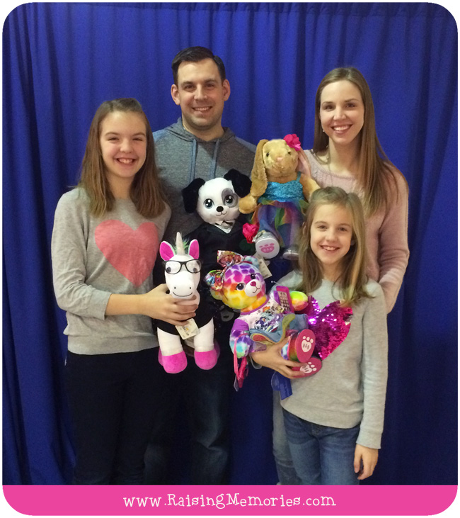 Build A Bear for the Whole Family