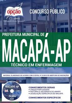 Apostila Prefeitura de Macapá Técnico em Enfermagem