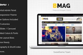 BMAG v2.1.1 Responsive Blogger Template