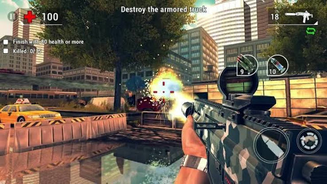 best first person shooter game on android unkilled