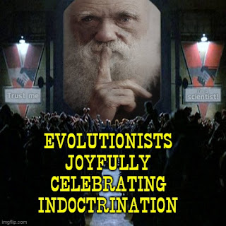 Elitist evolutionists are gleeful about gaining ground in promoting their views. However, they are not successful because of evidence and logic.