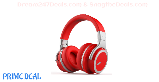 80%OFF Active Noise Cancelling Bluetooth Headphones with Free Carring Case