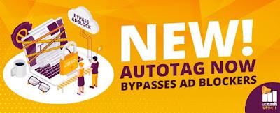 Publicidad Anti-Adblock de Adcash - Autotag