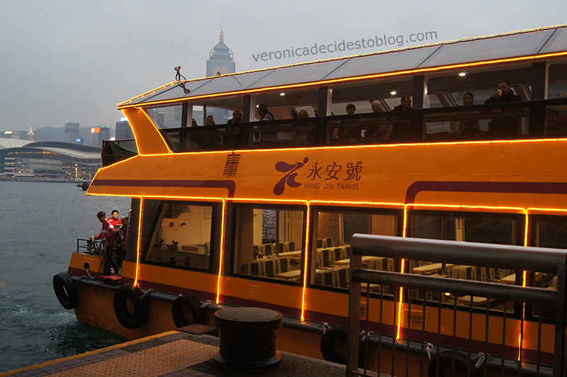 Watertours Victorial Harbour Sunset Cruise - Hong Kong