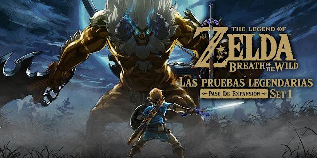 Ya se puede jugar al primer set de The Legend Of Zelda: Breath Of The Wild