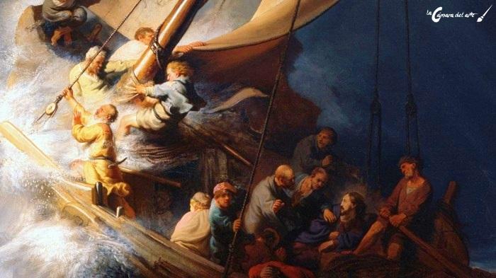 Tormenta En El Mar De Galilea