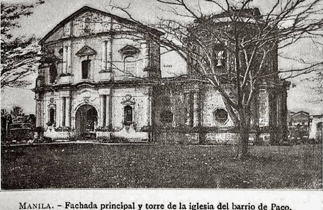 The old church of San Fernando after the Philippine Revolution. This ruins were demolished to give way to the present structure built in 1931. Photo credits to Mr. Nicholas Torrontegui