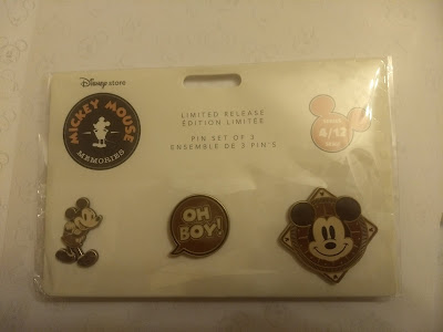 April Mickey Memories pins