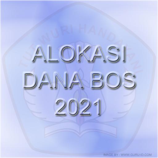 GAMBAR ALOKASI BOS 2021