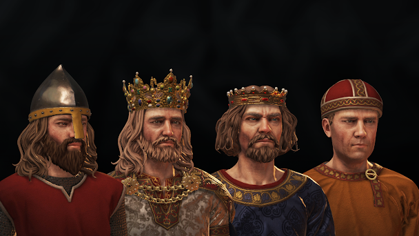 Crusader Kings 3 main characters