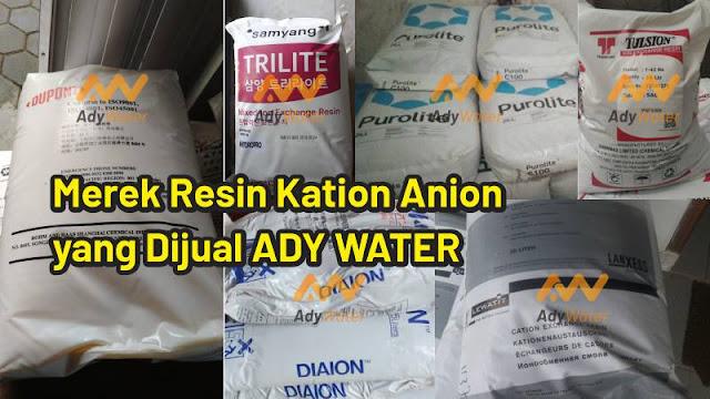 harga resin kation anion, jual, distributor resin, supplier resin