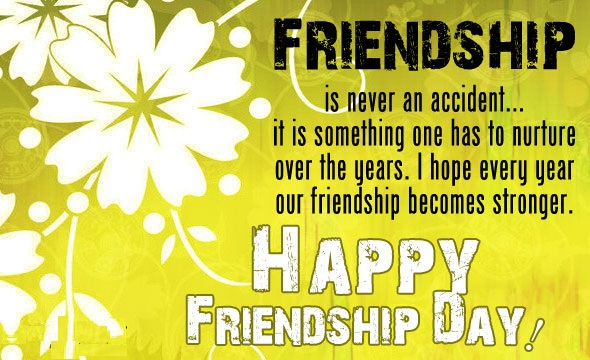 Happy Friendship day Cards 2016