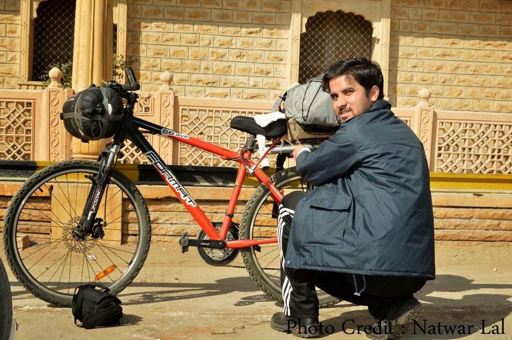 थार साइकिल यात्रा: जैसलमेर से सानू