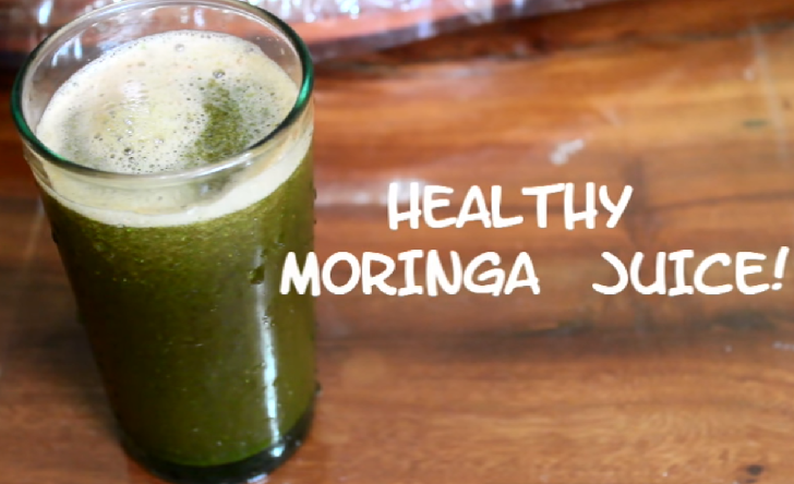 Healthy Moringa Juice