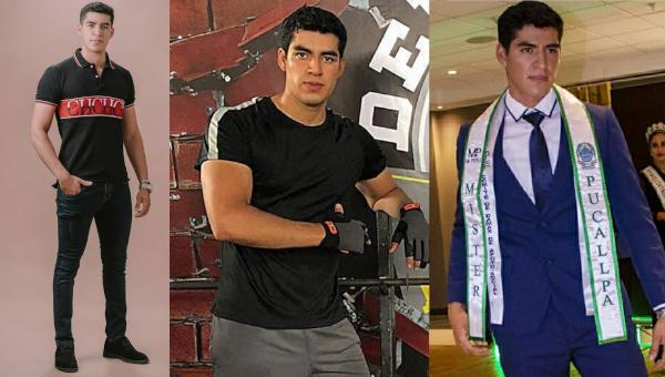 Geancarlo Timaná es Mister Perú Ucayali 2020