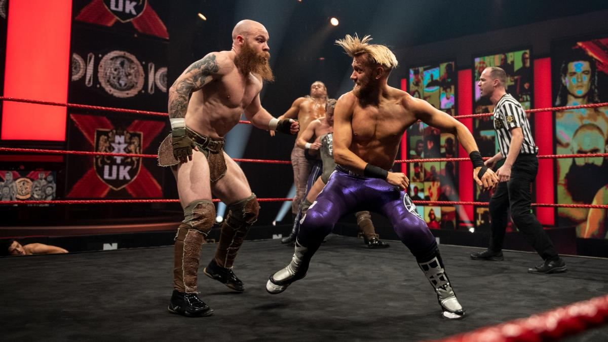 Mark Andrews and Primate in WWE NXT UK