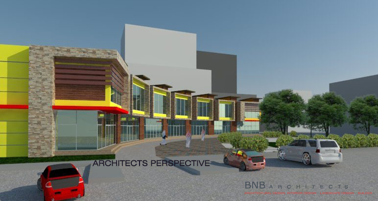 Bnb architects two storey commercial building for 2 story commercial building plans