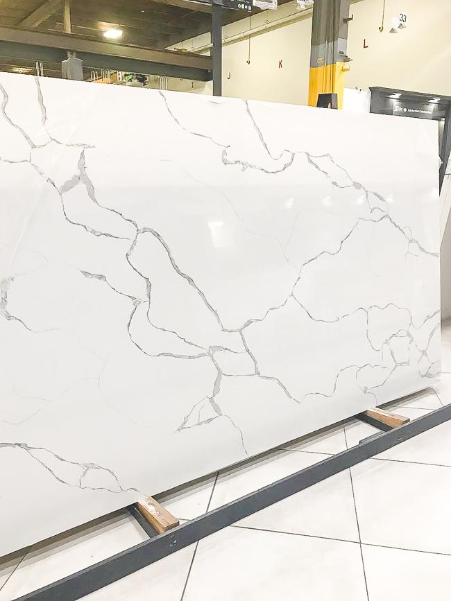 Statuary Classique quartz counters